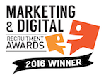 Marketing & Digital Recruitment Award Winner